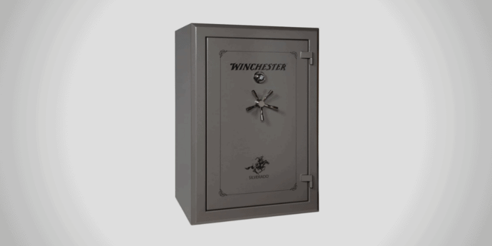 Winchester Silverado 51 gun safe in black